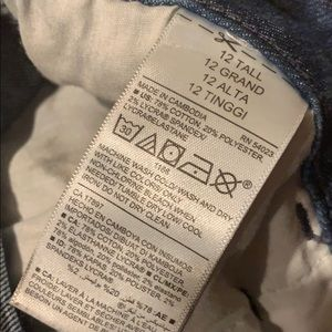 Old Navy Jeans - Old Navy Super Skinny Jean - 12 Tall